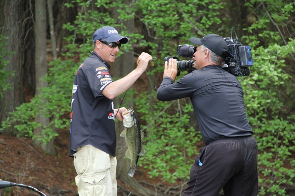 Brian thrift shows it off for Ultimate match fishing